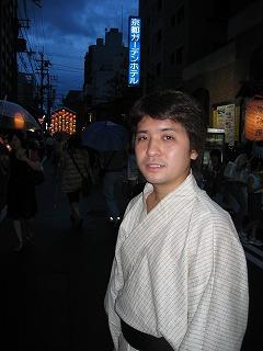 祇園祭 浴衣