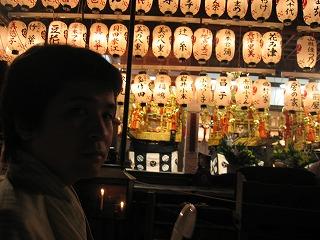 祇園祭の八坂神社
