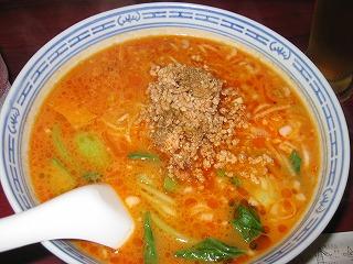 魅惑のタンタン麺