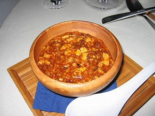 特別な麻婆豆腐 1日2食