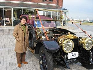1910年製のロールス・ロイス。シルバーゴースト