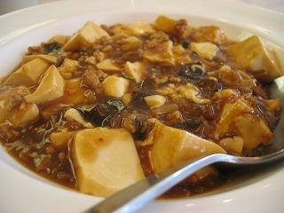これまた懐かしい雰囲気漂う、麻婆豆腐