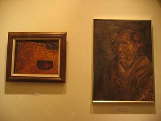 37年前、20代の頃に描かれた絵と最近描かれた絵。レベルの高さにびっくり