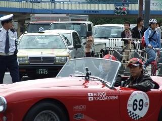 ラ・フェスタ・ミッレミリア 東儀秀樹さんが乗る、AC ACE(1954年)