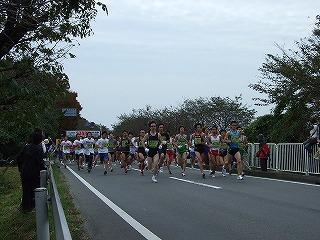 10キロマラソン、スタート風景(その3)