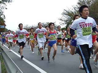 10キロマラソン、スタート風景(その4)