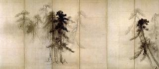 長谷川等伯の「松林図屏風」