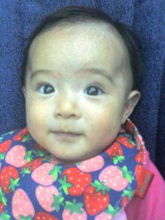 生後15週になる我が娘