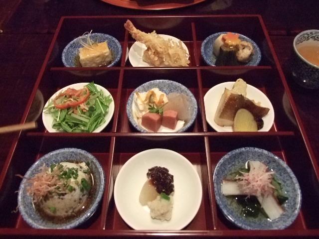 和食は、つくづく小さな芸術品ですね