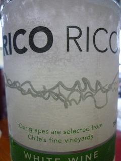 ワイン「リコリコ」のボトルラベル