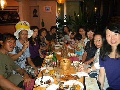 インドネシア語教室 食事会 cabe チャベ