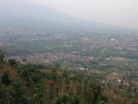 Banyak山からの景色