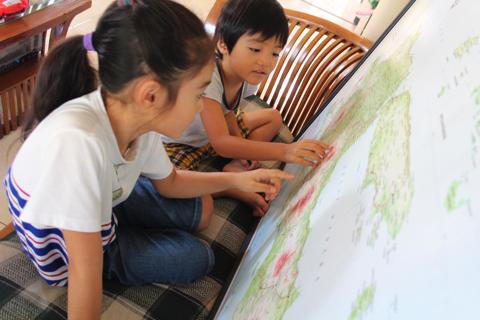 地図ポスター:インドネシア東ジャワ州