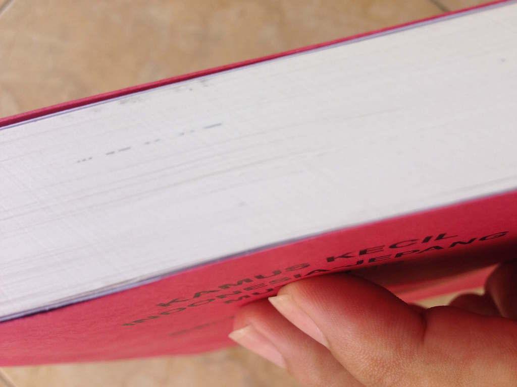 インドネシア語の辞書を修理