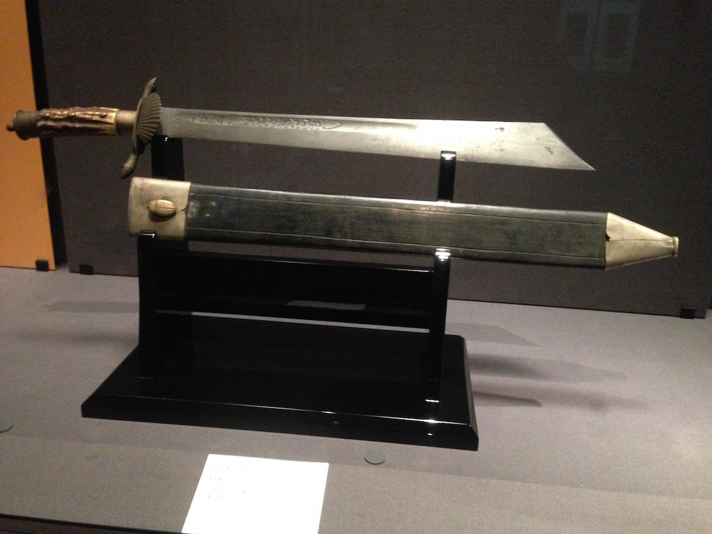 インドネシア神秘の短剣クリス(東京国立博物館:2016年10月)
