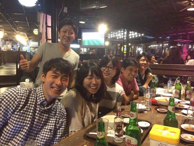 東ジャワ州マランに住む20代の日本人 食事会