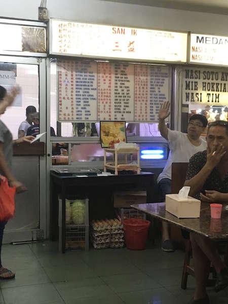 ジャカルタのチャイナタウンで本格中華が味わえる庶民派フードコート「チャンドラ」
