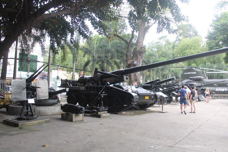 ベトナム戦争の歴史を展示するホーチミンの「戦争証跡博物館」は絶対に行っておくべし!
