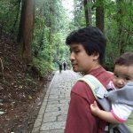 赤ちゃん連れで高尾山!ベビーキャリアでハイキング!