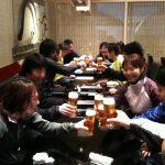 日本の味すぎのこ 羽田空港国際線ターミナルで「朝からビールを飲んで日本の朝を元気にする会」!