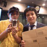 ラジオJ-WAVE「HELLO WORLD」の特集「ダンボールなう!」にゲスト出演して