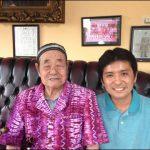 「インドネシア残留日本兵」小野盛さんとインドネシア語で会話してみた。