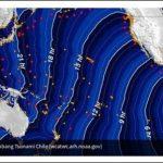 南米のチリ地震の津波は、インドネシアにまで影響か