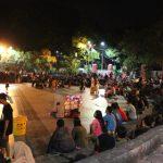 スラバヤ観光|名所「ブンクル公園」夜の賑わいと人々の情熱を見よ!