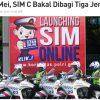 インドネシアの運転免許|二輪バイク免許は3つのタイプに変更へ