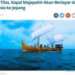 栄光のマジャパヒト王国|復元船がインドネシアから日本へ出航へ!
