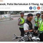 交通違反切符のオンライン化|インドネシアの着実な変化は要注目