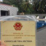 ベトナム滞在VISAを、ジャカルタのベトナム大使館で取得してみた。