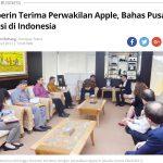 アップル|インドネシアに研究開発拠点を開設、4400万ドルを投資へ