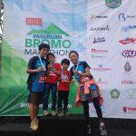 東ジャワの「ブロモ・マラソン2017」に子供連れで参加します!