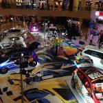 アジアのアニメブームは「痛車」にも!スラバヤのモールに大集結した改造車たち