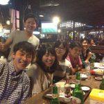 東ジャワのマランに住む20代の日本人メンバー食事会、みんなホントに元気!