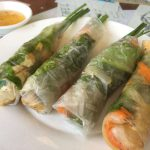 ホイアンのローカルレストラン「カフェ43」でいただく「野菜の生春巻き」の絶品!