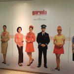 ガルーダ・インドネシア航空1949年から現在までの客室乗務員の「制服」の歴史!