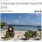 インドネシアの若者が行きたがっている国内の観光スポット、ベスト3はここだ!