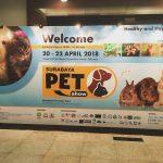 インドネシア第2の都市、スラバヤで開催された大規模な「ペットショー」に行ってきたよ!