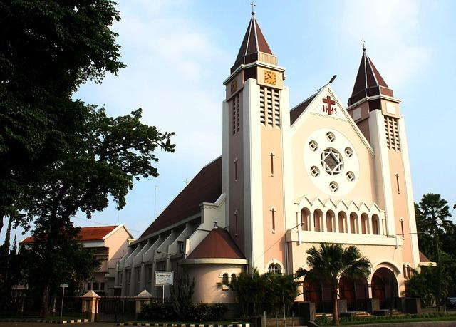 マラン malang 教会