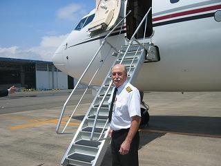 ビジネスジェット プライベートジェット パイロット