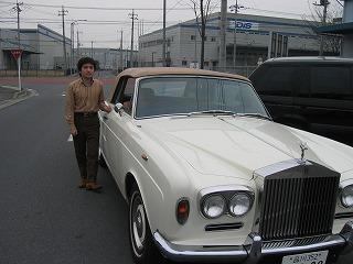 昔、運転させてもらった1971年製のロールス・ロイス