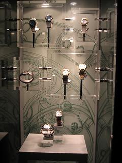 オーデマの時計が勢ぞろい