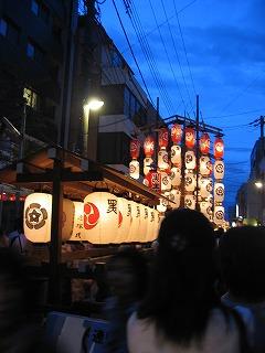祇園祭 室町通り