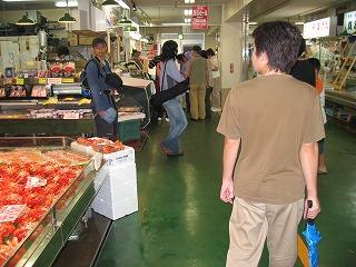 店舗が並ぶ 釧路 和商市場