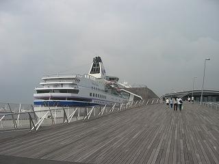 横浜港 豪華客船ぱしふぃっくびいなす