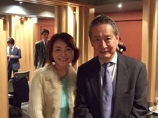 出井伸之さんと、私の妻(笑)