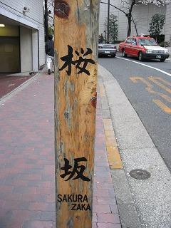 とうとう桜坂に到着!