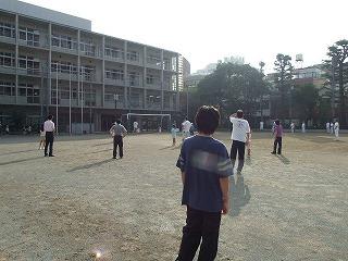 ラジオ体操 西新宿中学校